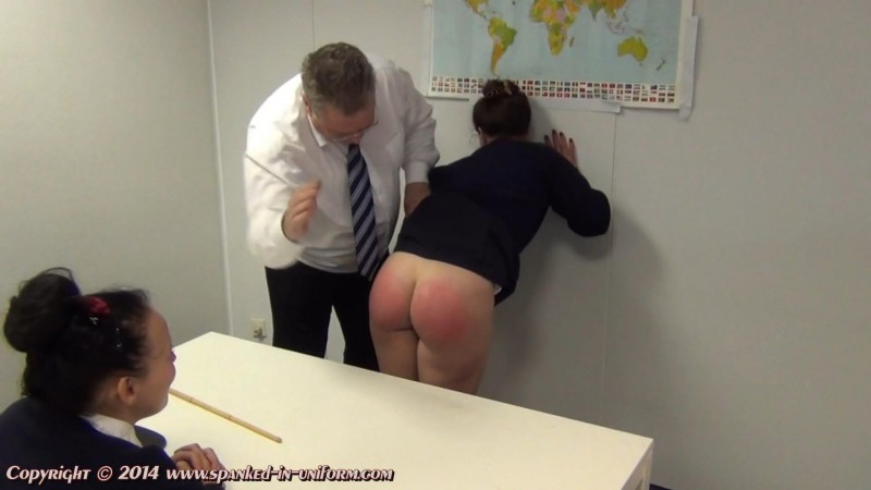 St. Catherines Private School For Girls Episode Seventy Five - The Geography Lesson Part One. Spanked-in-uniform.com (358 Mb)