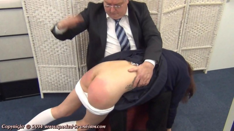 St. Catherines Private School For Girls Episode Seventy Seven - Hiding In The Bathroom Part One. Spanked-in-uniform.com (308 Mb)