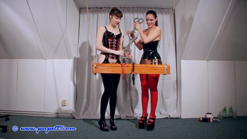 The Double Fiddle – Pupett And Anna Rose Part One (Clip274). Feb 22 2017. Pupett.com (391 Mb)