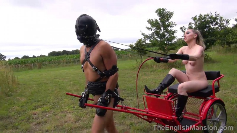 Blind Obedience – Mistress Sidonia. TheEnglishMansion.com (542 Mb)