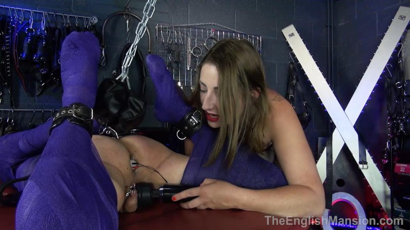 Bound And Plugged In – Mistress Evilyne. TheEnglishMansion.com (283 Mb)