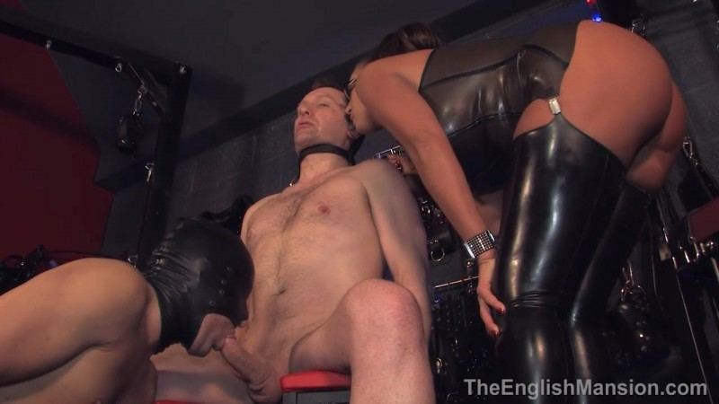 Filthy Bi Play – Mistress Pandora. TheEnglishMansion.com (332 Mb)