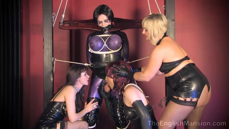 Frame Bound – Lady Nina Birch, Miss Kinky Dirty Bitch And Natalie Goth TV. TheEnglishMansion.com (286 Mb)
