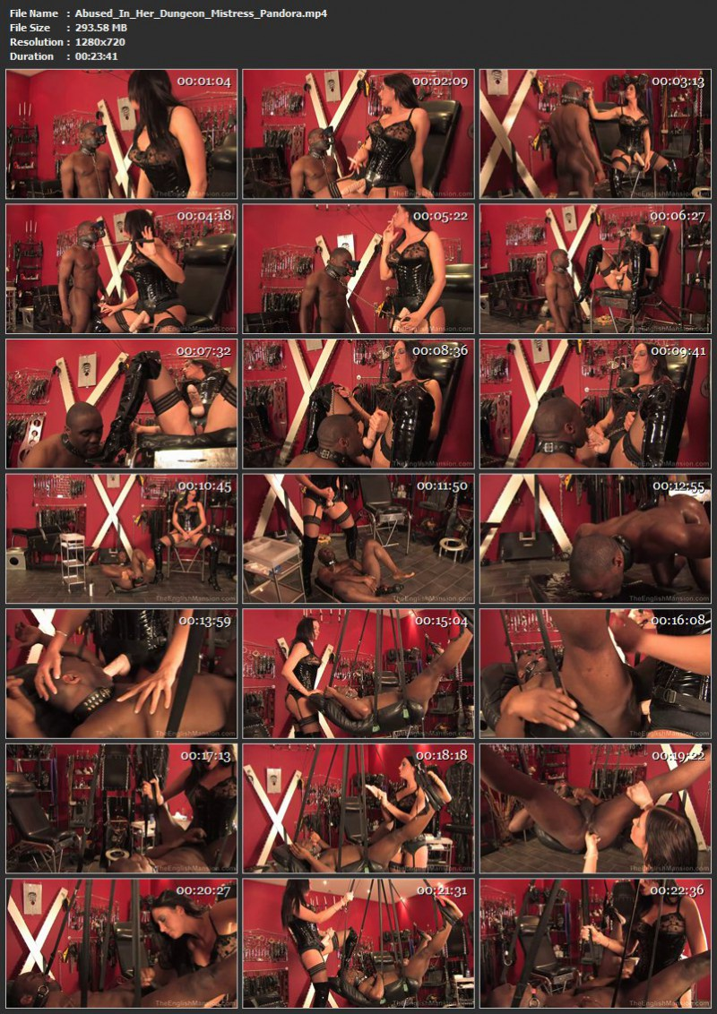 Abused In Her Dungeon – Mistress Pandora. TheEnglishMansion.com (293 Mb)