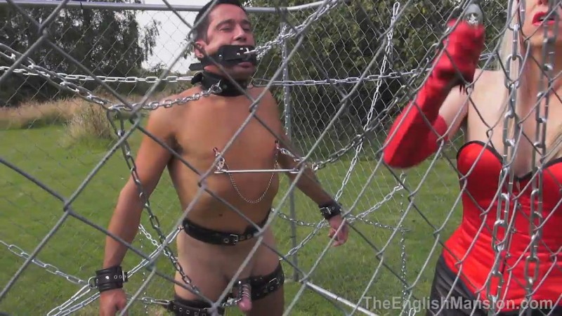 Caged And Chained – Mistress Sidonia. TheEnglishMansion.com (380 Mb)