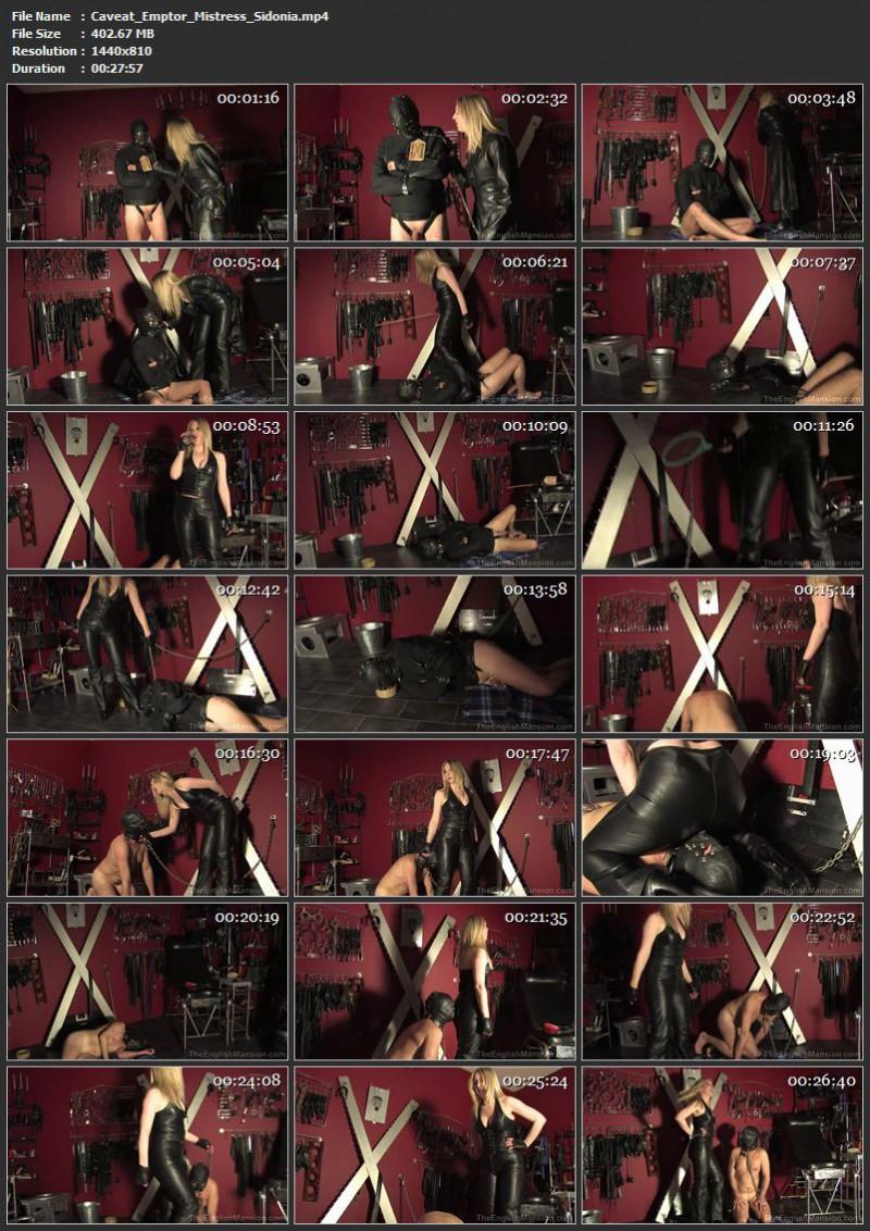 Caveat Emptor – Mistress Sidonia. TheEnglishMansion.com (402 Mb)