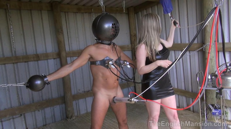 Chained And Drained – Mistress Sidonia. TheEnglishMansion.com (469 Mb)