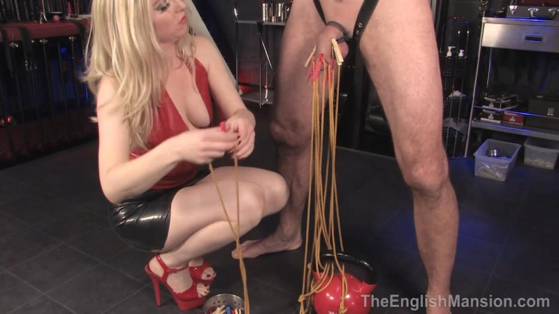Kettlebell CBT – Mistress Sidonia. TheEnglishMansion.com (530 Mb)