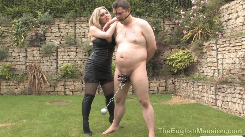 Useless Male Meat – Mistress Sidonia. TheEnglishMansion.com (518 Mb)