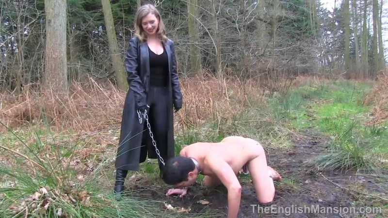 Woodland Dirty Bootworship – Mistress T. TheEnglishMansion.com (276 Mb)