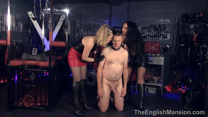 Broken Reprogrammed Repaired Part1 – Mistress Ezada Sinn And Mistress Sidonia. TheEnglishMansion.com (415 Mb)