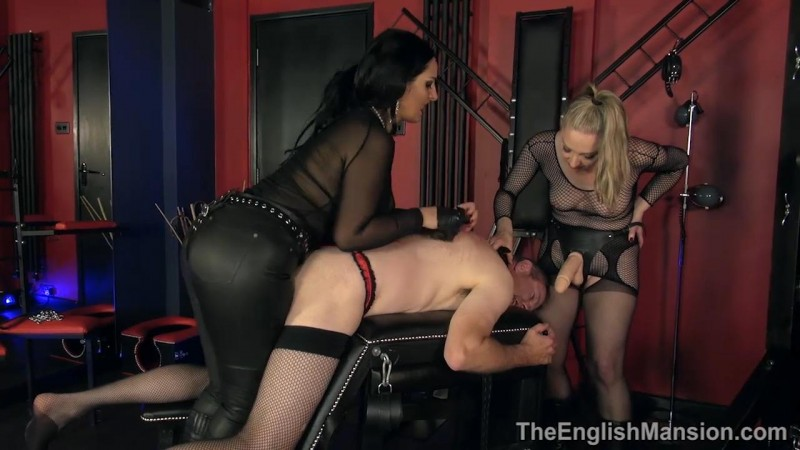 Broken Reprogrammed Repaired Part3 – Mistress Ezada Sinn And Mistress Sidonia. TheEnglishMansion.com (457 Mb)