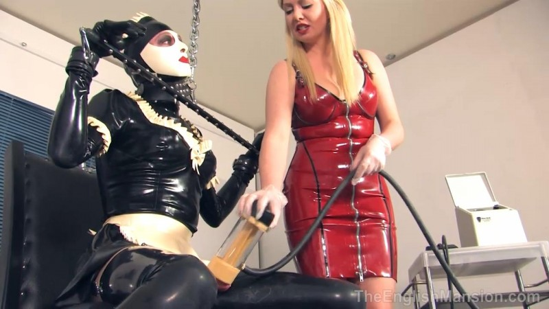 Milked Maid – Goddess Lexi And Sophie Doll. TheEnglishMansion.com (182 Mb)