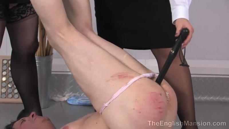 Panty Patrol Punishment – Lady Nina Birch And Mistress Sidonia. TheEnglishMansion.com (156 Mb)