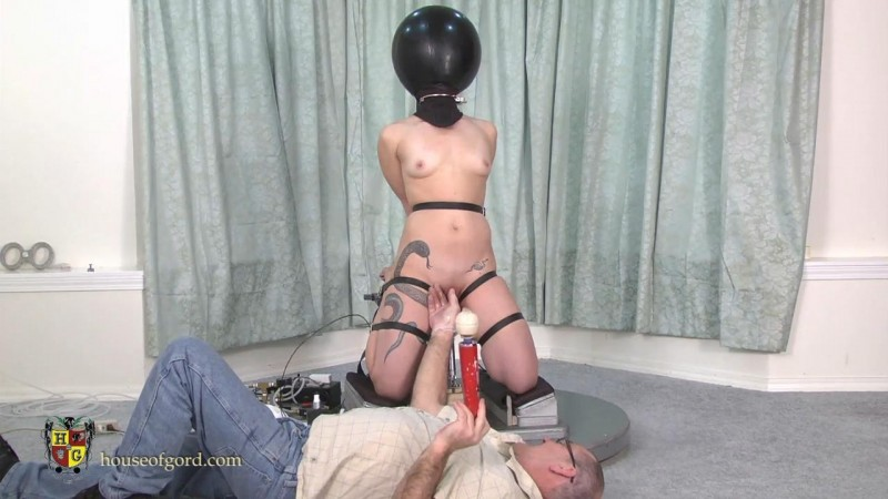 Balloon Hooded, Bound and Fucked – Kay Serah. May 24 2013. Houseofgord.com (197 Mb)