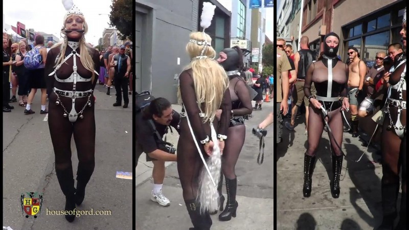 Folsom Street Fair 2013 Gord's Walking Fucking Machine – Femcar and Pandora63. Oct 11 2013. Houseofgord.com (234 Mb)