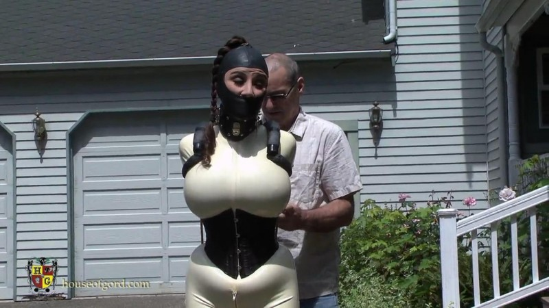 Jewell Marceau in captivity again. Jul 19 2013. Houseofgord.com (331 Mb)
