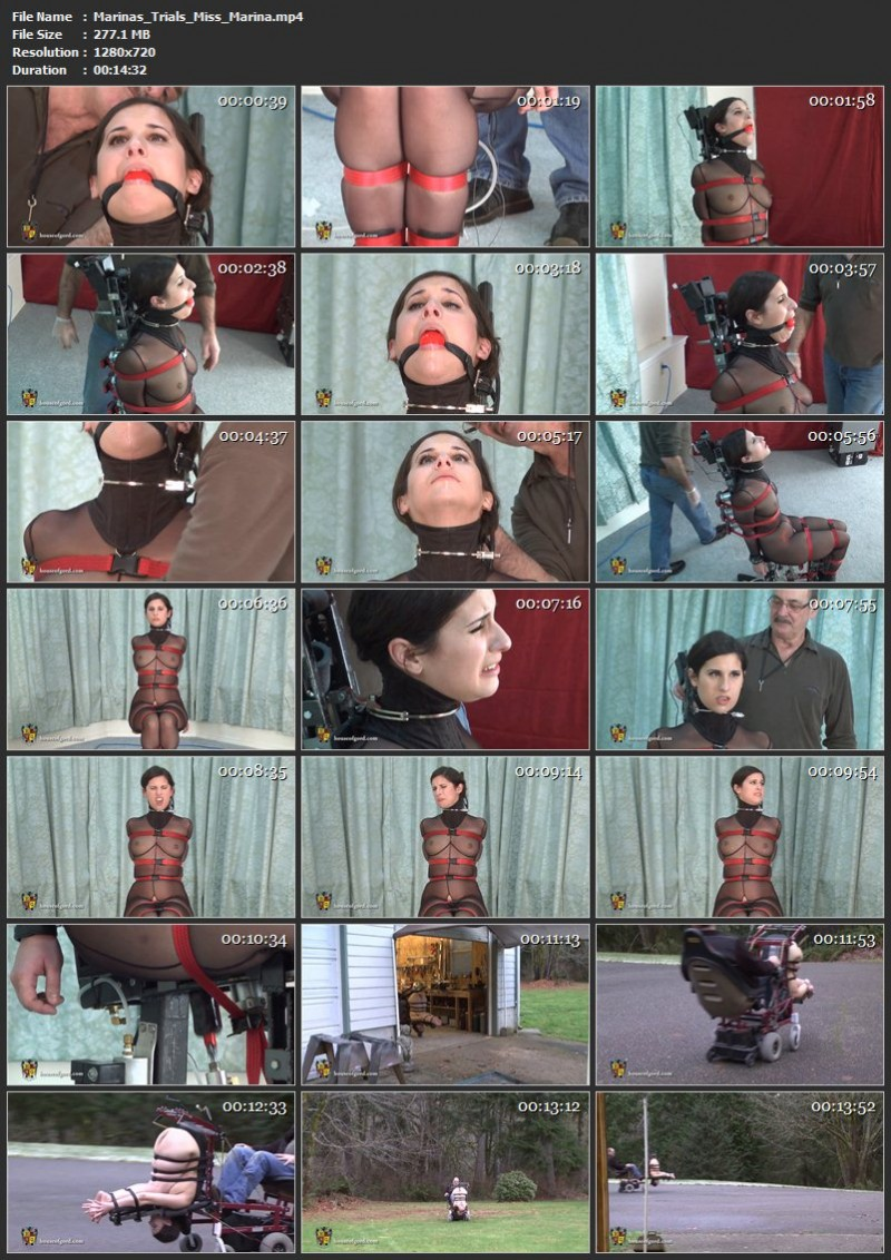 Marina's Trials – Miss Marina. Mar 08 2013. Houseofgord.com (277 Mb)