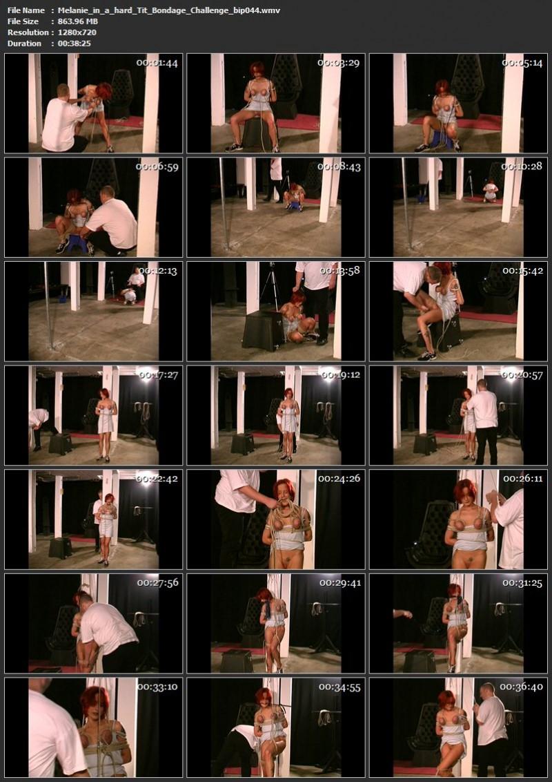 Melanie in a hard Tit Bondage Challenge (bip044). Sep 09 2017. Breastsinpain.com (863 Mb)