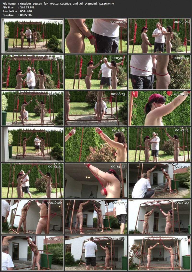 Outdoor Lesson for Yvette Costeau and Jill Diamond (TX336). Sep 23 2017. Toaxxx.com (216 Mb)