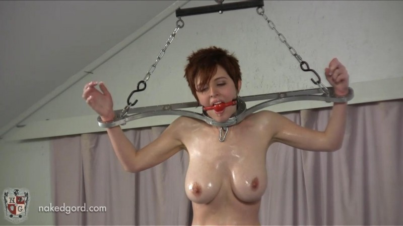 RyAnne meets the rotating Pussy Pole. Oct 01 2013. Houseofgord.com (339 Mb)