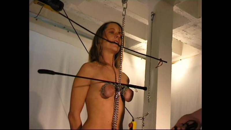 Small Tits in Chains for Slave Doris (bip041). Aug 19 2017. Breastsinpain.com (333 Mb)