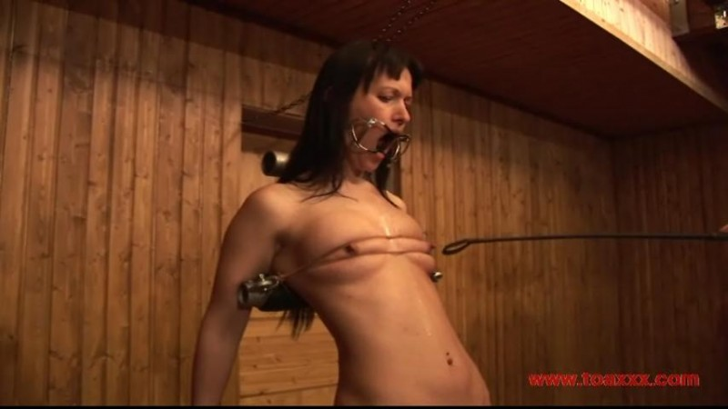 Yvette Costeau on the Torture Rack (TX337). Sep 30 2017. Toaxxx.com (135 Mb)