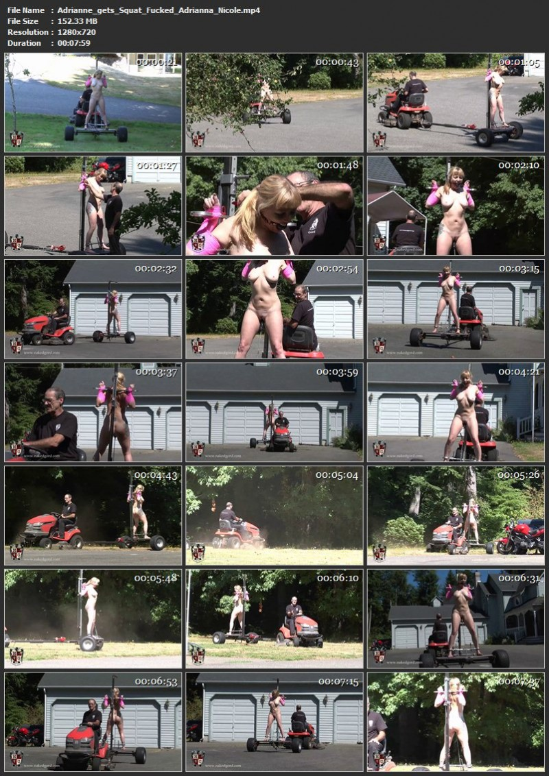 Adrianne gets Squat Fucked – Adrianna Nicole. Oct 10 2014. Houseofgord.com (152 Mb)