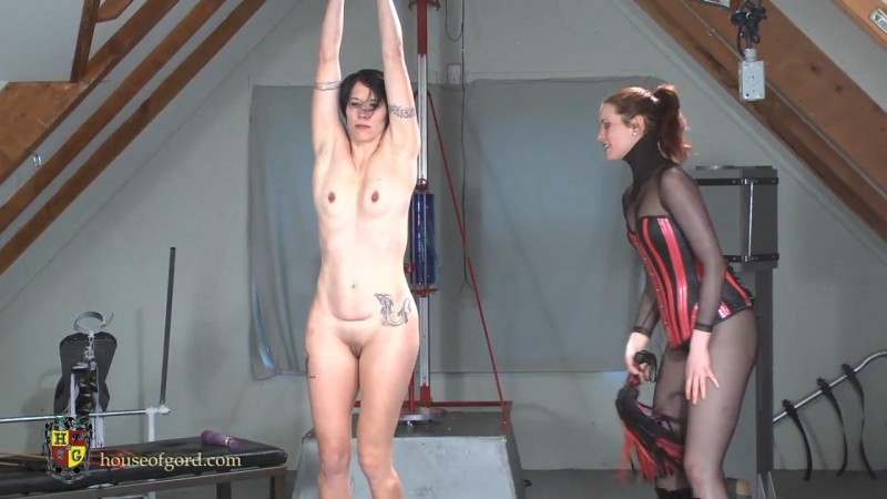 Candy gets Caned and Trained – Savannah Sly, Candy. Apr 06 2014. Houseofgord.com (355 Mb)