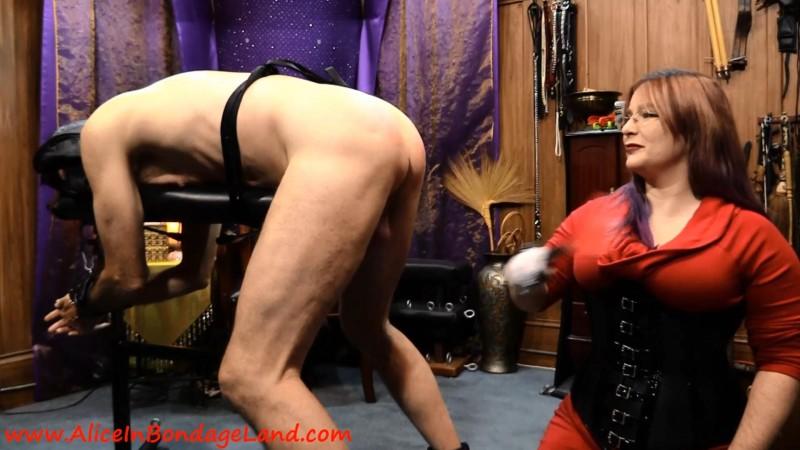 Femdom Strapon Punishment