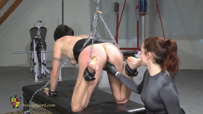Chained, Cuffed and Caned – Candy, Savannah Sly. Apr 27 2014. Houseofgord.com (319 Mb)