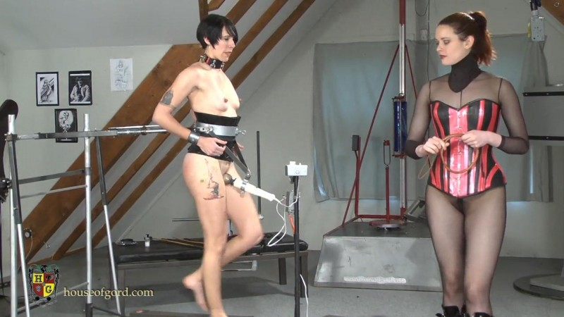 Forced Workout Orgasm Training – Savannah Sly, Candy. Apr 13 2014. Houseofgord.com (282 Mb)