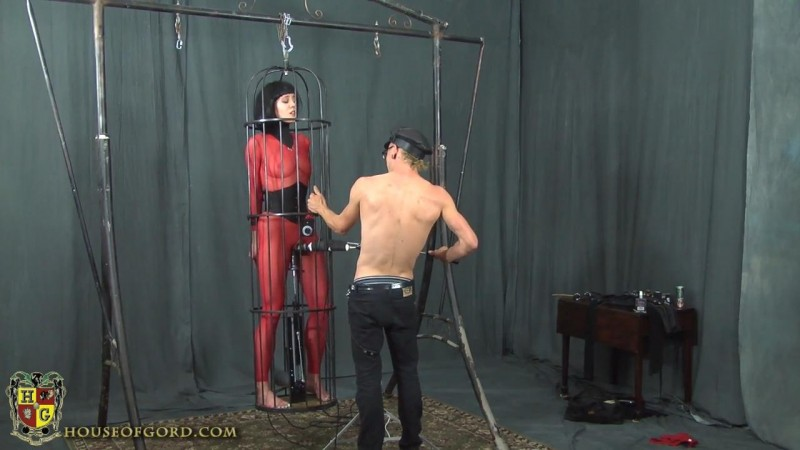 Suspended Bird Cage Fuck Machine – Quinn. Sep 02 2016. Houseofgord.com (423 Mb)