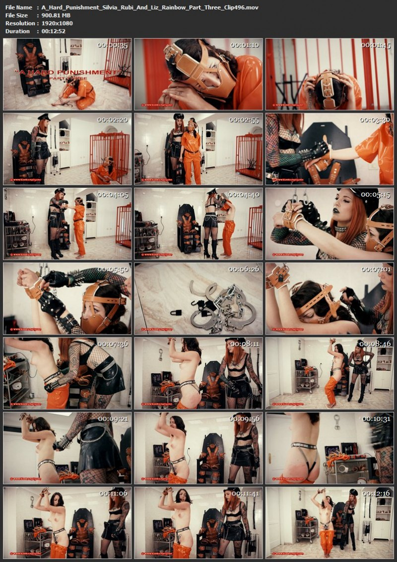 A Hard Punishment – Silvia Rubi And Liz Rainbow Part Three (Clip 496). Nov 24 2017. Bloodangels.com (900 Mb)
