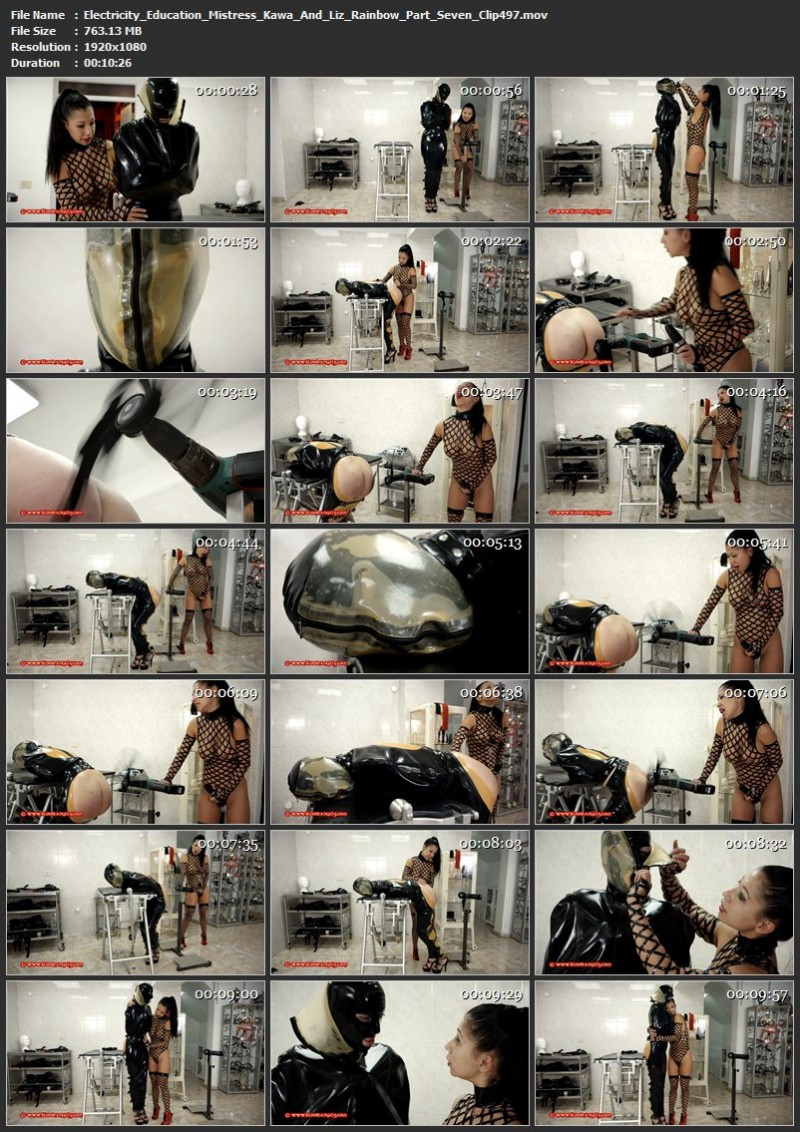 Electricity Education – Mistress Kawa And Liz Rainbow Part Seven (Clip 497). Dec 01 2017. Bloodangels.com (763 Mb)