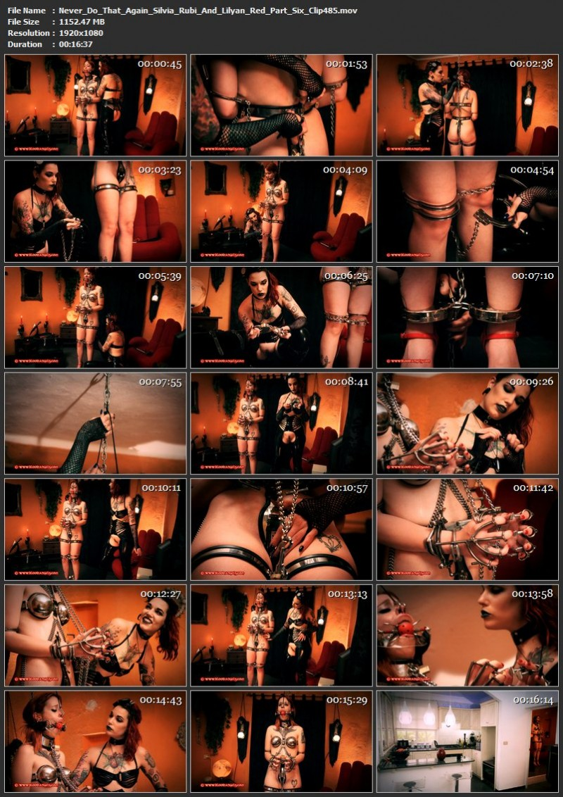 Never Do That Again - Silvia Rubi And Lilyan Red Part Six (Clip 485). Aug 25 2017. Bloodangels.com (1152 Mb)