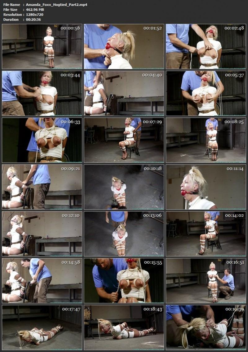 Amanda Foxx Hogtied. Futilestruggles.com (1658 Mb)