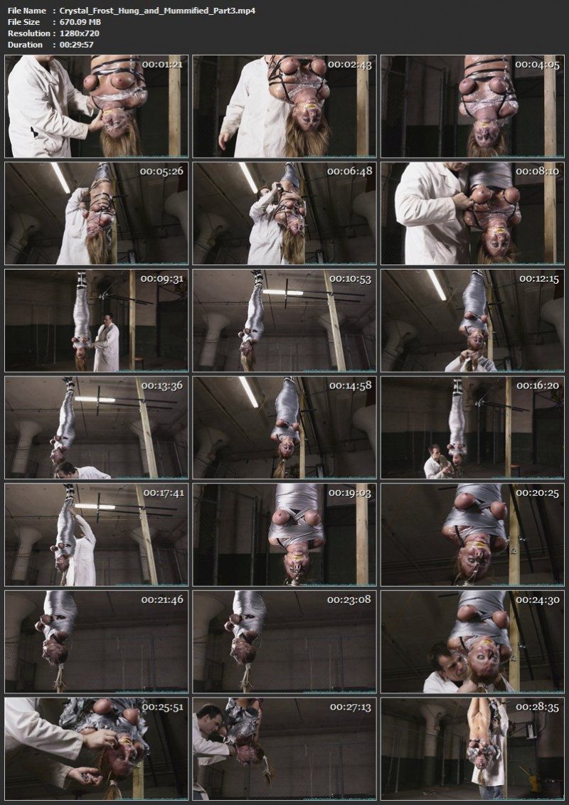 Crystal Frost Hung and Mummified. Futilestruggles.com (1433 Mb)