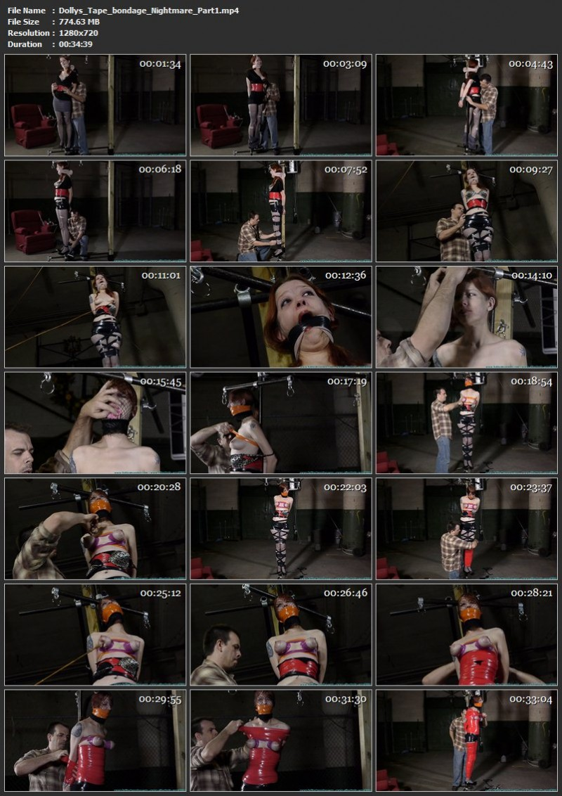 Dolly's Tape bondage Nightmare tute. Futilestruggles.com (1408 Mb)