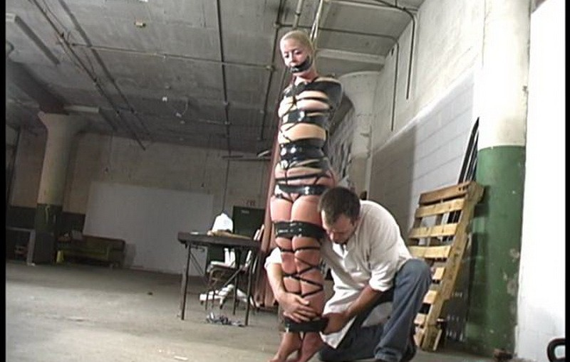 Eden's Dream – PantyHose and black tape Encasement. Futilestruggles.com (738 Mb)