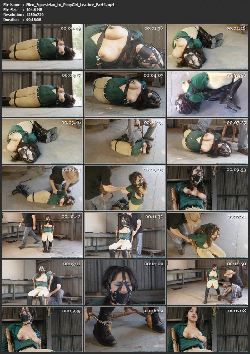 Ellen Equestrian to PonyGirl – Leather. Futilestruggles.com (1619 Mb)