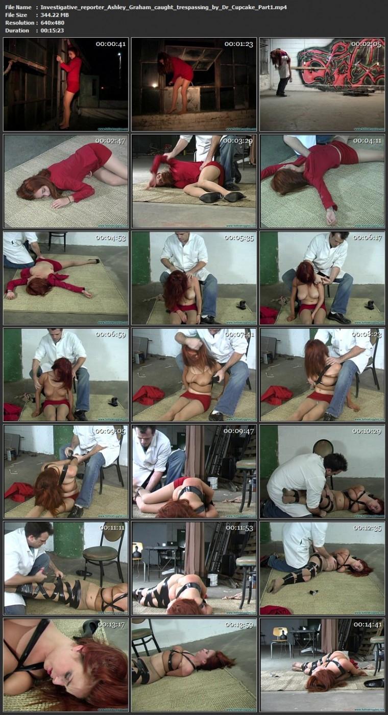 Investigative reporter Ashley Graham caught trespassing by Dr. Cupcake. Futilestruggles.com (733 Mb)