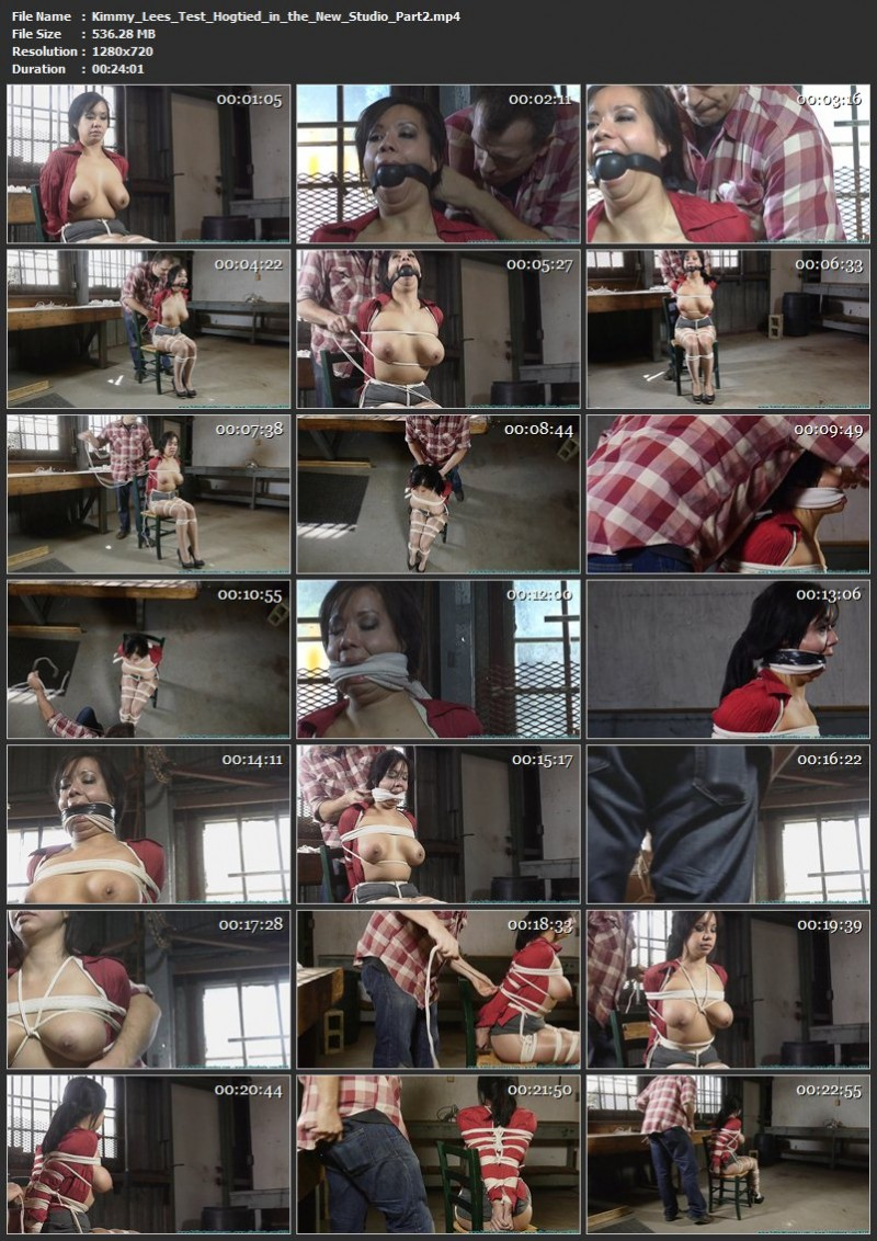 Kimmy Lee's Test – Hogtied in the New Studio. Futilestruggles.com (1645 Mb)