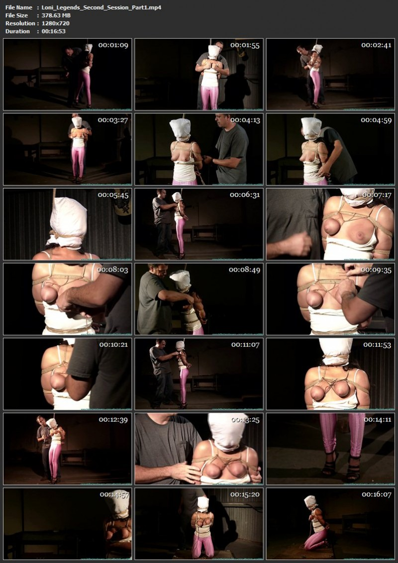 Loni Legend's Second Session. Futilestruggles.com (1384 Mb)