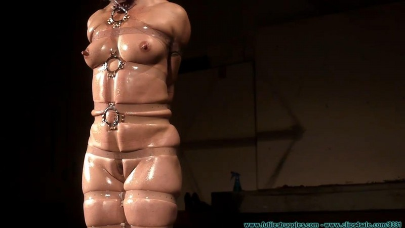 Wenona Tightly Bound With Clear Straps. Futilestruggles.com (1010 Mb)