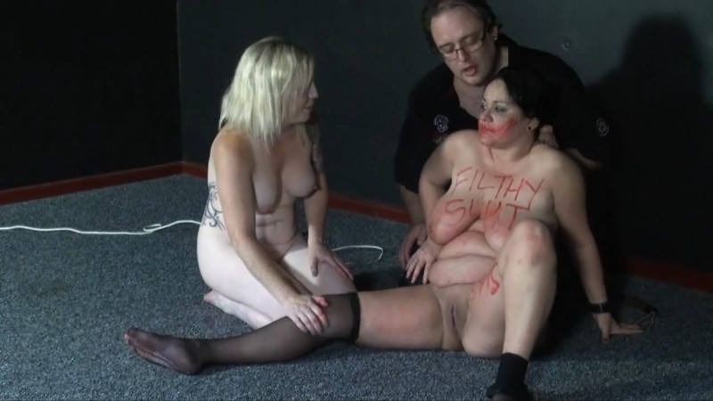 Denial Part 2 - Slavegirl Andrea and Angel. ShadowSlaves.com (1381 Mb)