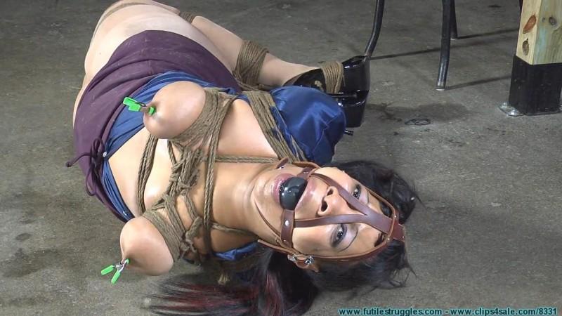 Sassy Hogtied. Futilestruggles.com (1246 Mb)