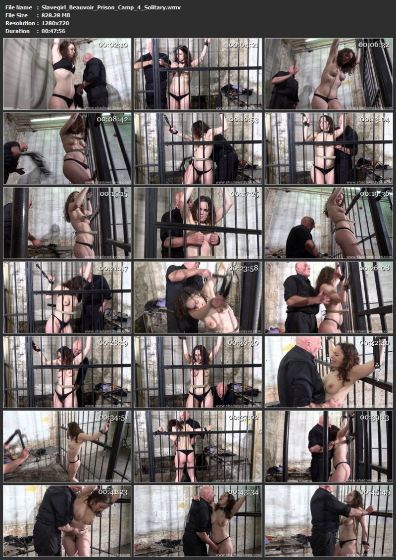 Slavegirl Beauvoir - Prison Camp 4 - Solitary. ShadowSlaves.com (828 Mb)