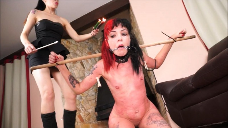 Slavegirl Cary And Mistress Karina - Carys Cruel Training. ShadowSlaves.com (3033 Mb)
