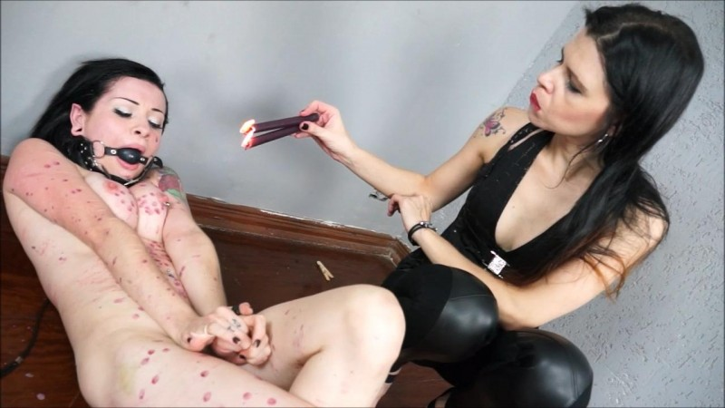 Slavegirl Samy And Mistress Karina - Samys Suffering. ShadowSlaves.com (3312 Mb)